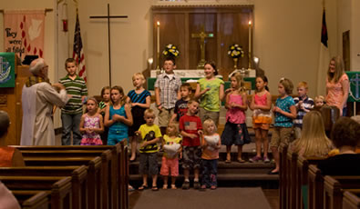 Estherville Lutheran Church Sunday School